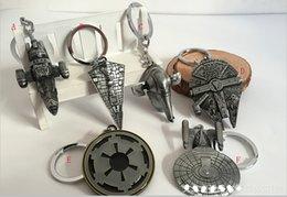 Wholesale Fashion keychains Hot Movie Star Wars Design Key chain New Star Wars Airship key ring Keychain