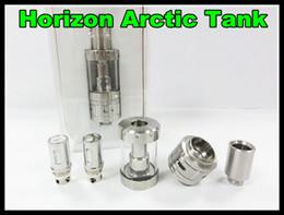 Horizon Arctic Tank artic tank E Cigarette Arctic Atomizer Wire BTDC Coils Replaceable Artic Atomizer Tank