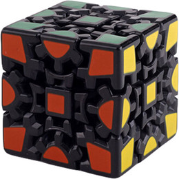 Wholesale Shoppingabc CUBE Gear Cube II D abnormity Cube Black Twisty Puzzle