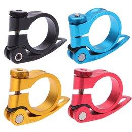 Wholesale Bicycle Mountain Road MTB Bike mm Quick Release Seat Post Clamp Tube Clip Aluminium Alloy Y0301