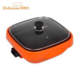 Wholesale Li Shi was versatile cooker pot Colorful DLS AD130 multifunction nonstick wok cooker