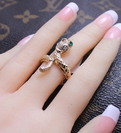 gold snake lady's rings all size (xysppfh )
