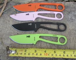 4 colors Randall's Adventure® ESEE Izula Neck Knife EDC Fixed blade knife EDC survival knife knives with KYDEX sheath