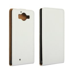 For Nokia Lumia 950 Texture Genuine Flip Leather Case Cover