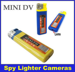 Spy lighter camera 30FPS 720*480 USB Mini DV Lighter Spy DVR Hidden Camera Camcorder Yellow Blue & DHL Free Delivery
