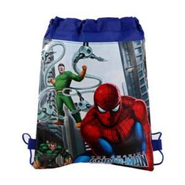 Wholesale Spiderman Book Bag Kids Bags Child Backpack Handbag Girls Backpacks Girls Bags Children Bags Backpacks Fashion Bag Childrens Bags C8821