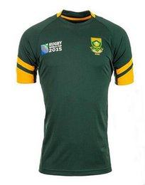 Wholesale 2015 world cup rugby South Africa jerseys rugby South Africa top quality Ireland ITALY England world cup Rugby Jersey