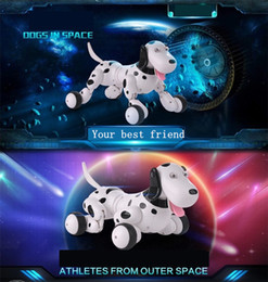 Wholesale No corner children protect G wireless remote control smart dog program available intelligent robot dog