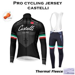 2015 Pro team Winter Thermal Fleece long Cycling Jersey Ropa Ciclismo Winter Cycling Clothing MTB bike sport jersey maillot