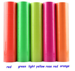 Wholesale 100 Rolls 10 Barrel Price Tag Paper Price Label Refill Adhesive for MX-5500 Price Tag Gun Lableller Free Shipping