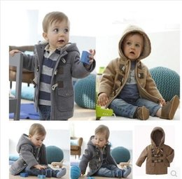 The new child and velvet coat, qiu dong outfit han edition autumn outfit baby boy with thick coat coat