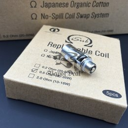 Wholesale Original Innokin ISub Ohm Coil Heads ohm Coils Huge Vapor fit W W E Cigarette Fit ISub G Isub Apex