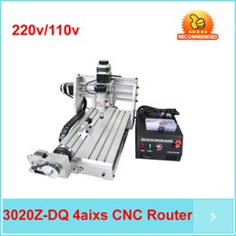 Wholesale Free ship by DHL Z DQ cnc Axis Mini Engraving Machine ROUTER ENGRAVER DRILLING MILLING MACHINE
