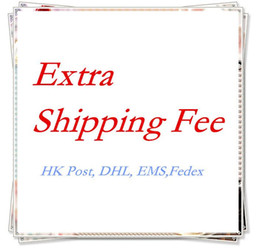 Wholesale Extra Shipping Fee For Your Order Via Other Freight Cost Like HK Post EMS DHL Fedex from macs