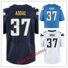 Wholesale Factory Outlet Men s Jahleel Addae Jersey Elite Navy Blue Baby Blue White Stitched Name And Number