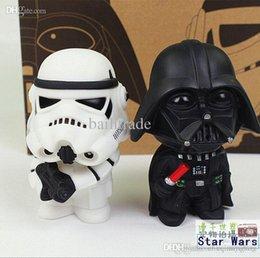2017 l'action de guerre Gros-2015 New Star Wars figures 2PCS jouets / SETS Black Knight Darth Vader Stormtrooper action PVC Figures jouets éducatifs bricolage peu coûteux l'action de guerre