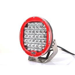 225W 10INCH RED Cree led work light LED Driving Worklight Jeep Car Bright Round LED Work Light Off-Road SUV ATV 4WD 4x4 12v 10-30V