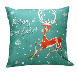 Wholesale-JECKSION Christmas Beer Bed Home Pillow Case Cover