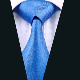 Blue Classic Silk Neckties For Men Fashion Formal Business Wedding Tie High Quality Active Suit Mens Ties D-1110