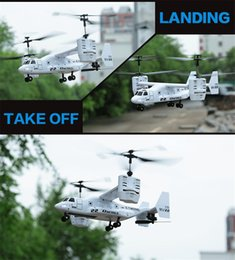 2016 New Version 4.5CH RC Osprey Transport Aircraft ready to fly Osprey Plane with Gyro with light Christmas 2016 Gifts for children