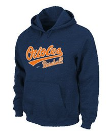 Wholesale Baltimore Orioles Pullover Hoodie Sweatshirt Mens Sportswear Hoodies Fashion Men s Baseball Jackets Hot Sale size S XXXL