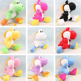 "Super Mario Bros Yoshi Plush Running yoshi Anime 7"" High Quality Soft Plush for kids gift"