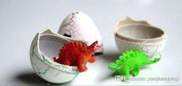 Wholesale Novel Water Hatching Inflation Dinosaur Egg Watercolor Cracks Grow Egg Educational Toys Interesting Gift