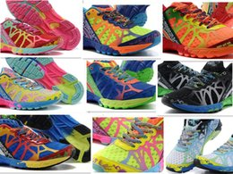 Wholesale Newest new GEL running shoes for women athletic shoes Ourdoor sports Shoes brand Noosa tri men s shoes