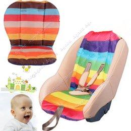 Wholesale Waterproof Baby Stroller Cushion Pad Pram Padding Liner Car Seat Pad Multi color SV004868