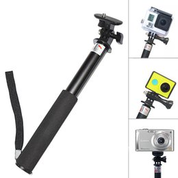 Waterproof Monopod Tripod Gopro Accessories Extendable Go pro Pole Stick Monopod tripe for GoPro Hero 4 3 Sj4000 sjcam xiaomi yi