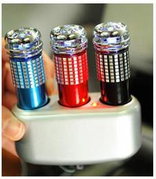wholesale practical Auto Car Fresh Air Purifier Car Oxygen Bar Ionizer mini auto car air freshener ionizer free shipp