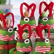 Fairy gift bag Christmas supplies for children's gifts with candy apple hot sale free shipping