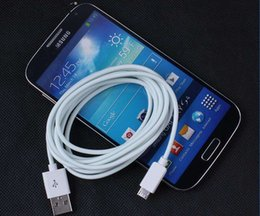 Newest 3M 10ft long Micro USB Data Sync Charging white round Cable for Samsung s6 edge plus NOTE 5 6S