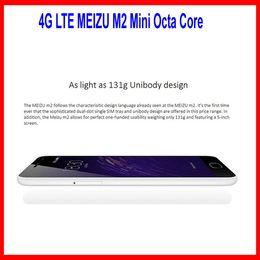 Wholesale 2015 Original Meizu m2 mini G LTE Uni molding GB RAM16GB ROM MP MP mtk6735 bit Quad core Inch HD mAh GPS
