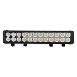 Wholesale 20 INCH W LED LIGHT BAR OFFROAD LED LIGHT BAR FOR OFFROAD ATV x4 TRUCK BOAT TRACTOR MARINE