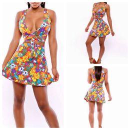 Wholesale 2015 Spring Corset Top Dresses Sexy Women s boutique Print Dress Mini skirt club dresses maxi dress