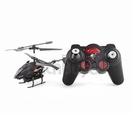 Wholesale S977 CH Channel IR RC Remote Control Helicopter Heli Gyro Toy Black