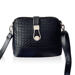 2015 bolsos carteras mujer marca Women Shanel Bags Weave shell Women Shoulder Bags Fashion Leather Sling Crossbady Bag
