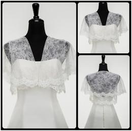 2016 Lace Wedding Bolero Jacket Sexy V Neck Cap Short Sleeve Justin Alexander Bridal Accessories Bolero Jacket For Bride