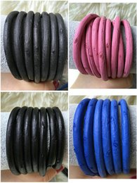 Wholesale mm ostrich leather cord for bracelet colors ostrich skin cord