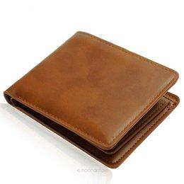 Wholesale Money Clips Hot Sale Stylish Wallet PU Leather Wallet Men Wallet PU Leather Wallet Purse for Men M090