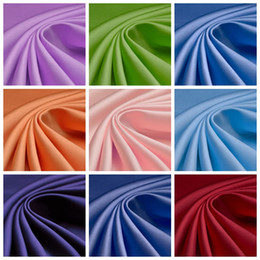 Wholesale 5Yard Satin Wedding Dress Fabric Inch Width Custom Length Swatch Sample Dress Fabric Accessories High Quality Satin Material