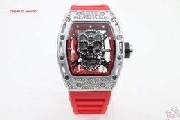 Free Shipping Transparent Black Dial Red Rubber Belt Womens Stainless Pointer Watch Womens Fashion Style Wristwatches