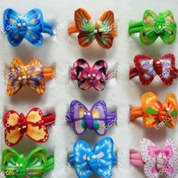 Fashion Hot Lovely Children Polymer Clay Rings For Boys Girls Wholesale Jewelry Bulk Packs Lots LR193