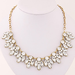 2017 Fashion Korean Exaggerated Vintage Shining Necklace Fashion Jewelry Colar Necklace Women Accessories