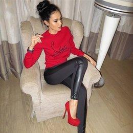 Sudadera .tracksuit venta en venta-Venta caliente 2015 nuevas mujeres del otoño del resorte de la marca de ropa deportiva sudadera carta harajuku femenina traje de impresión chándal kawaii FG1511