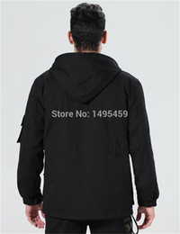 Wholesale Fall Mens Winter Military Cotton Jacket US Army AIR FORCE Thermal Trench with Hood Outdoor Wadded Jacket Fleece Lining Military Coat