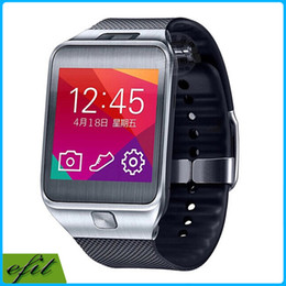 Wholesale 1 Gear No Bluetooth Smart Watch MP Heart Rate Monitor Waterproof Pedometer Wrist G2 Smartwatch For IOS iPhone Galaxy Note