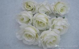 BEST SELLER FLOWER HEADS 100p Artificial Silk Camellia Rose Peony Flower Head 10cm Silk flower ball flower arch flower arrangement FZH040