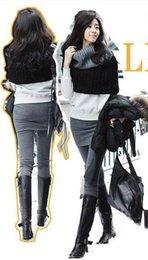 Compra Online Polainas de la falda caliente-Falda de pantalones legging de dos piezas falsas negros calientes vendedores calientes de las mujeres de la falda de las mujeres de la falda de las mujeres con mini faldas